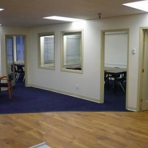 Renovated Classrooms and Student Lounge