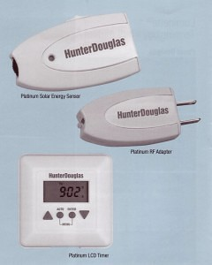 Motorized accessories by Hunter Douglas