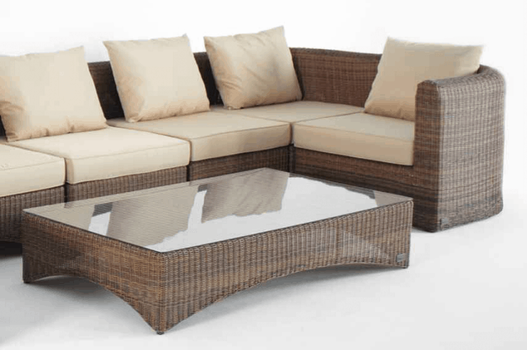 outdoor living space ideas pvc furniture