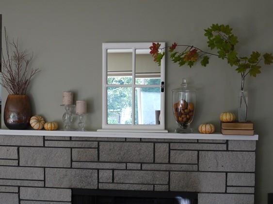 Autumn mantle in progress
