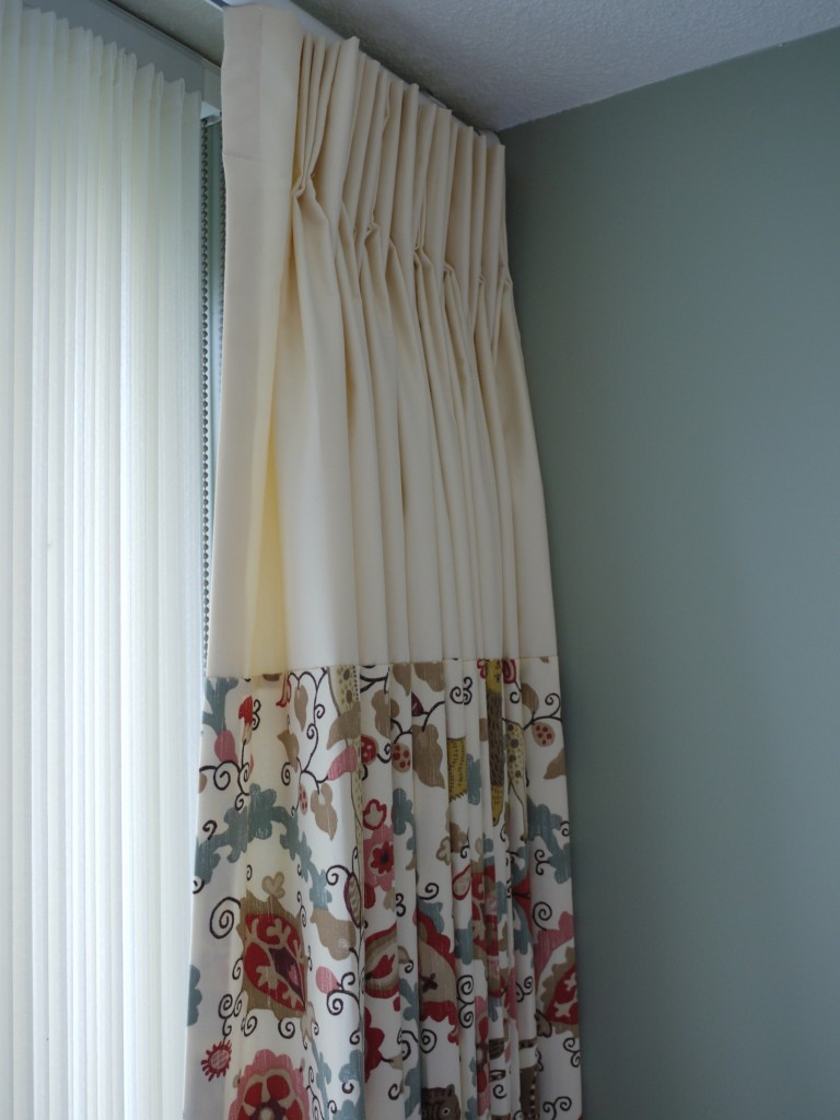 custom nursery drapes