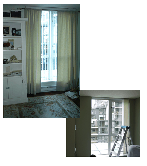 From concept to completion:  How custom drapes for a nursery meets the due date.