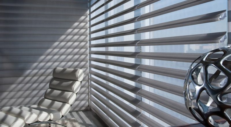 Pirouette sheer shades by Hunter Douglas