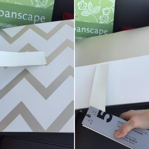wallpaper and paint swatch