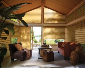 Vignette roman shade by Hunter Douglas