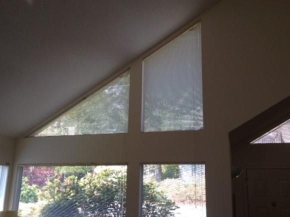 angle top window