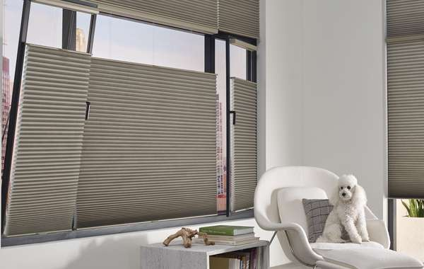 Blinds for Tilt & Turn windows. Pet friendly controls